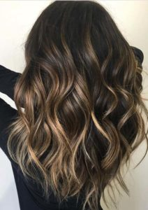 Dark Chocolate Hair Color Blends for 2021