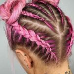 Fantastic Pink Braids Styles You Must See Nowadays