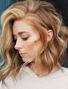 Golden Blonde Highlights to Try in 2021