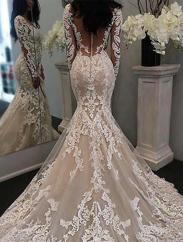 Gorgeous Bridal Dresses & Outfit Ideas to Wear in 2019