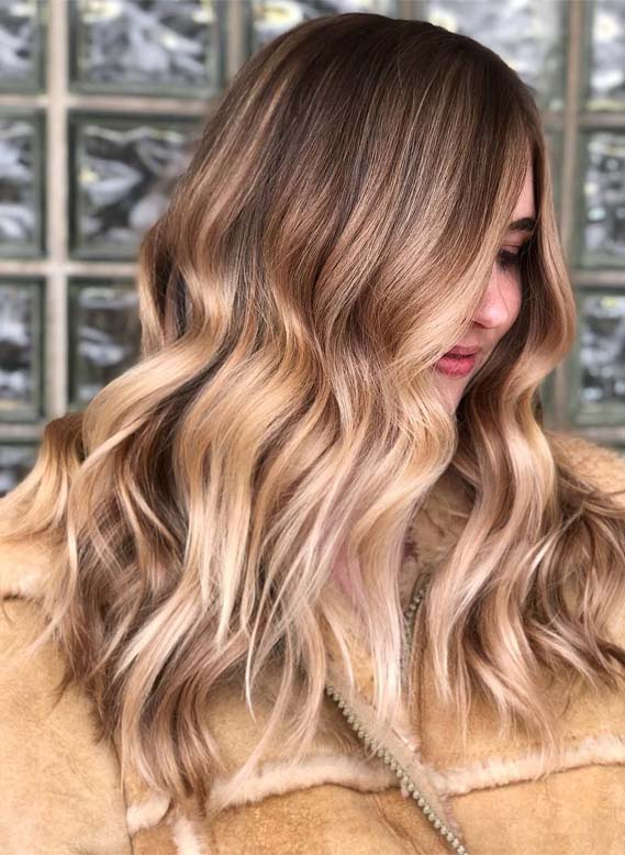 Sensational Honey Blonde Hair Colors for Long Hair in 2019
