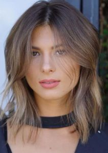 Layered Lob Haircuts For Fine Hair in 2021