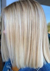 Perfect blunt blonde bob haircuts for 2021