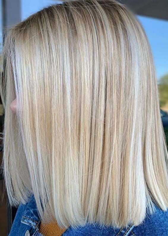 Perfect Blunt Blonde Bob Haircuts for Women to Try in 2021