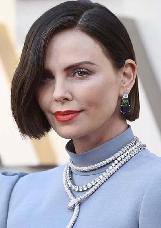 Modern Red Carpet Brunette Bob Haircuts for Women 2019
