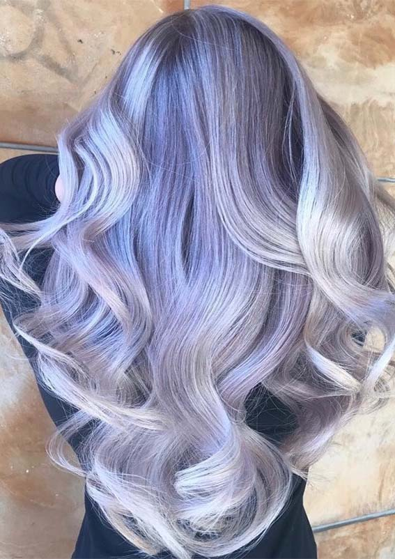 Adorable Shades Of Lavender Hair Colors to Wear in 2021