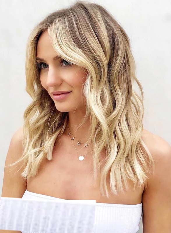 Amazing Blonde Lowlights and Highlights Hair Colors for 2021