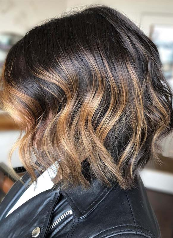 Best Brunette Style Bob Haircuts for Summer Season 2019