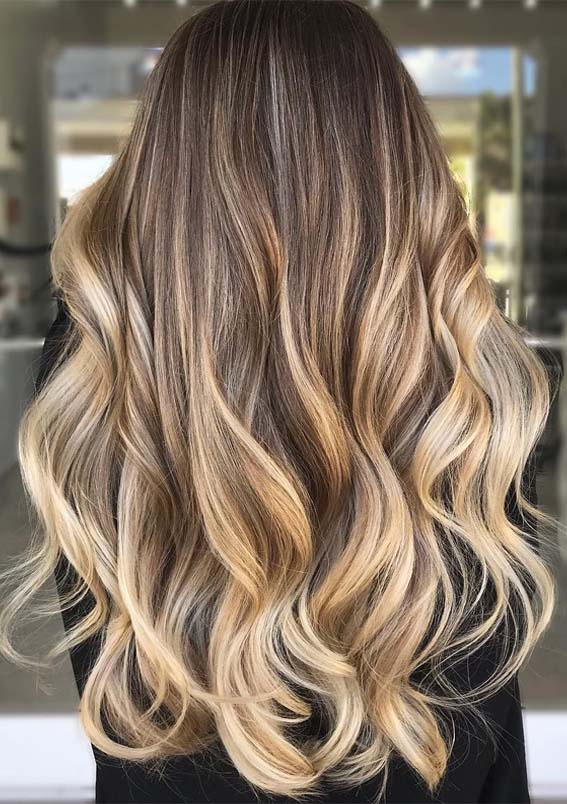 Gorgeous Buttered Wheat Toast Blonde Natural Highlights in 2019