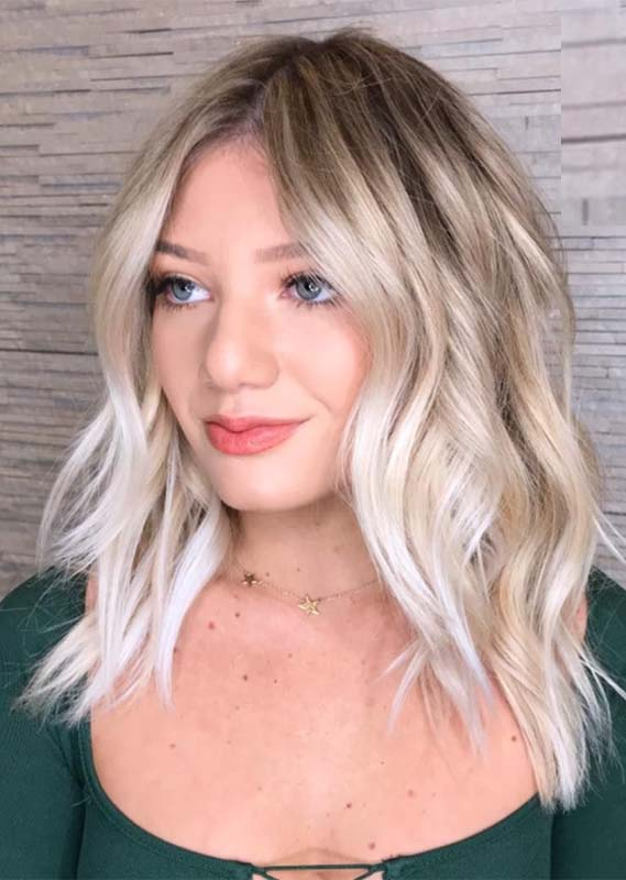 Coolest Blonde Balayage Hair Color Ideas for Girls in 2021