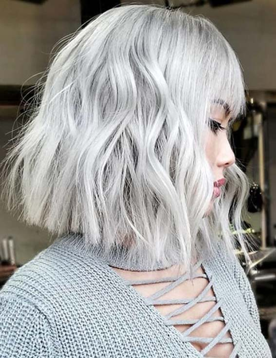 Fantastic Platinum Blonde Hair Color Ideas to Show Off in 2021