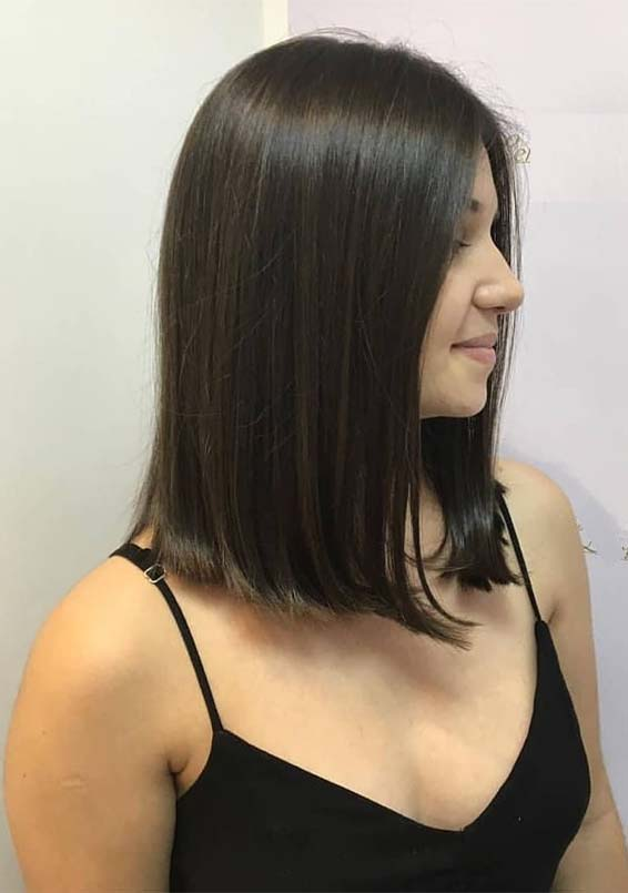 Best Long Bob Haircuts & Hairstyles Ideas for Girls in 2019