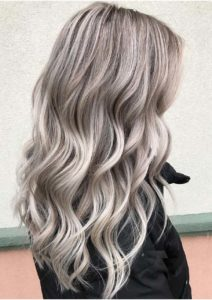 Lowlights on light blonde hair color trends for 2019