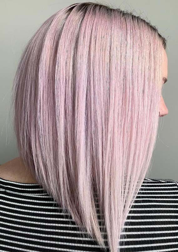 Modern Pink Hair Color Ideas & Shades in Year 2019
