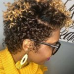 Natural Short Curly Hairstyles for Black Women in 2021