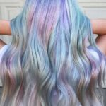 Pastel Hair Color Waves for Long Hair in 2021