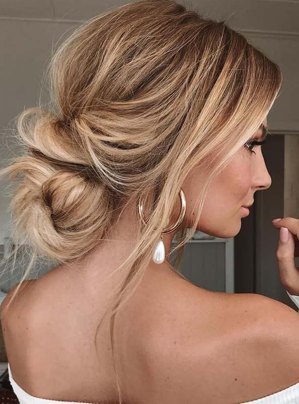 Perfect Bun Styles for Special Occasions in Year 2019
