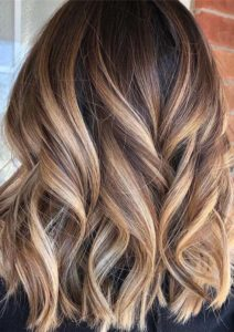Perfect blends of Balayage for Lob cuts in 2019