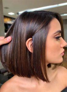 Pretty Brunette Bob Haircuts for 2019