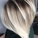 Shadow Rooted Blonde Bob Cuts in 2021