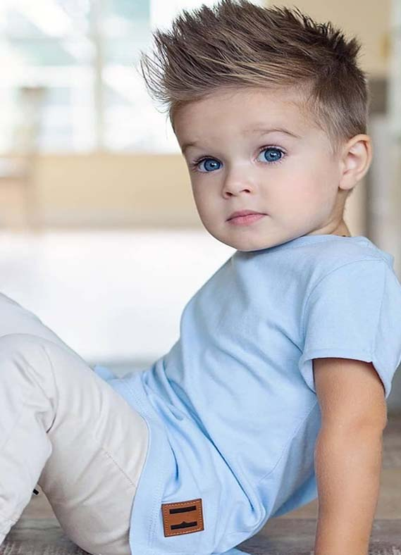 Cutest Short Haircuts for Boys Kids to Create in 2019