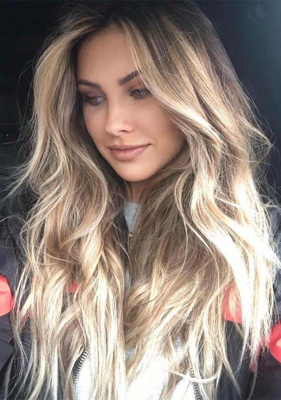 So Gorgeous Sunny Blonde Hair Color Ideas to Try in 2019