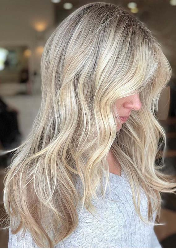 Stunning Blonde Hair Color Highlights & Trends in 2019