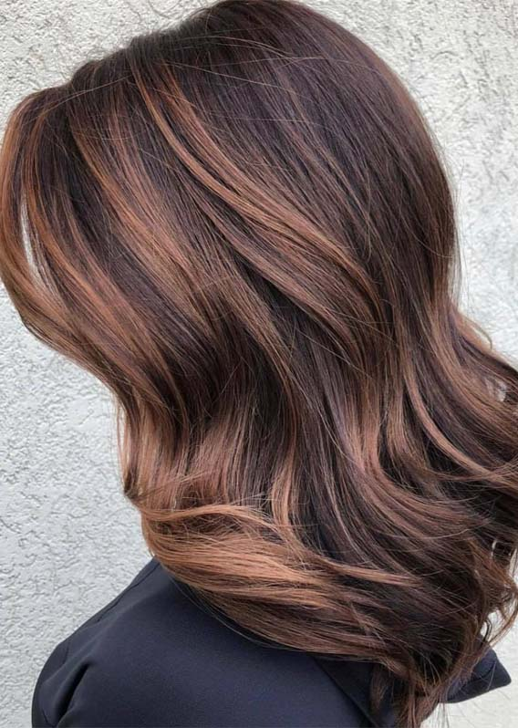 Amazing Sun-kissed Chocolate Brown Hair Colors in 2019