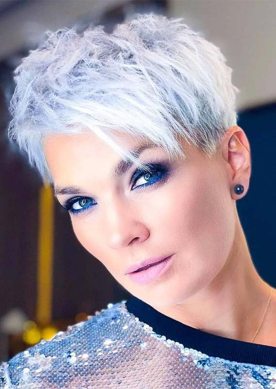 Superb Ideas Of Blonde Pixie Haircuts for Girls in 2019