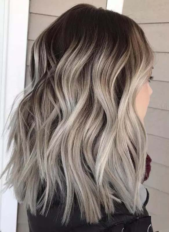Best Brown Balayage Hairstyles For Medium Length Hair in 2019