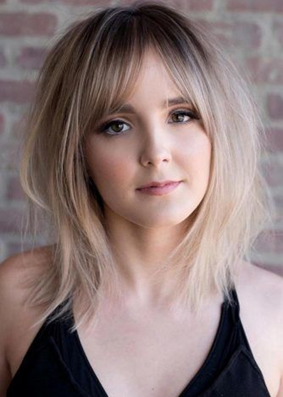 Cute Medium Length Layered Haircuts for Women in 2019