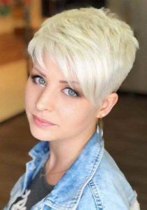 Cute Pixie Haircuts for Short Blonde Hair in 2021