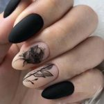 Cutest Black Nail Arts & Images for 2021