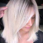 Favorite Ice Blonde Hair Colors & Hairstyles in 2021