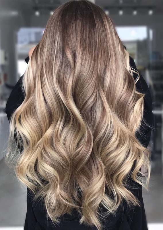 Best Golden Balayage Hairstyles and Hair Color Ideas for 2019