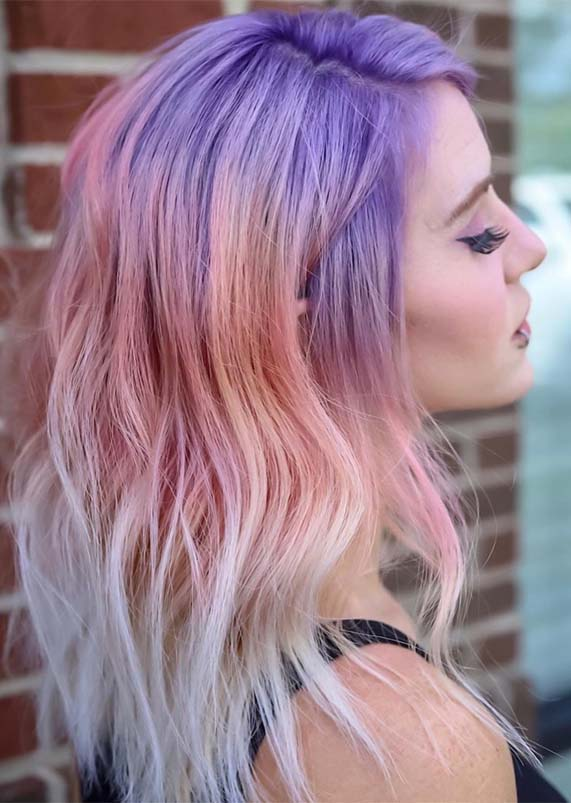 Gorgeous Pulp Riot Hair Colors Highlights for Bold Look in 2019