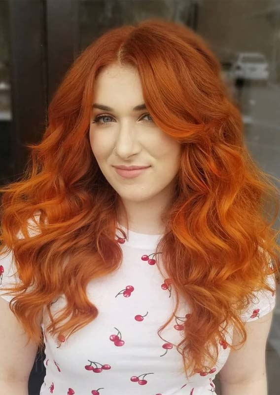 Incredible Ginger Red Hair Color Shades for Girls in 2019