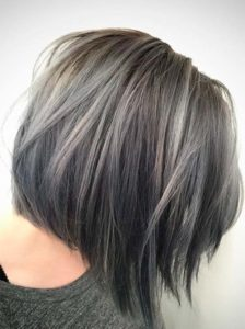 Lovely Haircuts for Grey Hair in 2019