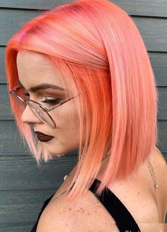 Gorgeous Pink Bob Haircuts for Women to Show Off in 2019