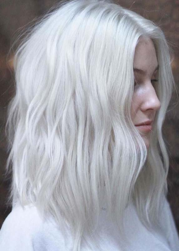 Stunning Platinum Blonde Hair Color Ideas to Follow in 2021