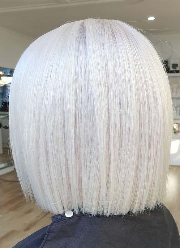 Best Platinum Blonde Hair Color Trends for Unique Look in 2019