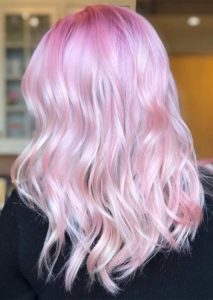 Pretty Pink Hair Colors & Hairstyles Ideas for 2021