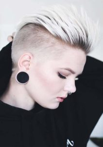 Undercut Pixie Hair Styles for Women 2019
