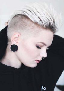 Undercut Pixie Hair Styles for Women 2019