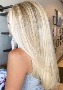 summer blonde & balayage hair colors combo for 2021