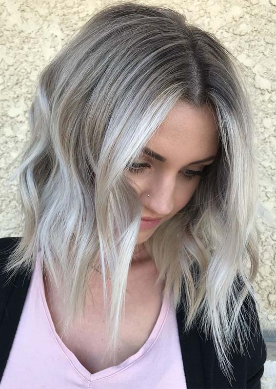 Awesome Ash Blonde Hair Color Trends You Must Wear in 2019