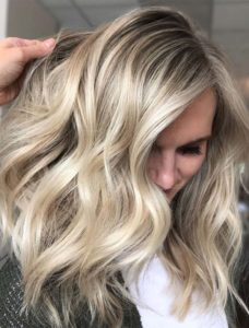 Blonde Balayage Hair Colors Combo for 2021