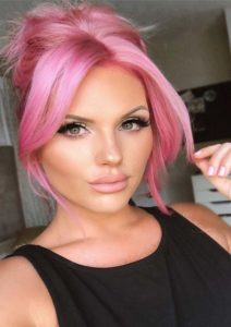Perfection Of Pink Hair Colors to Follow Nowadays