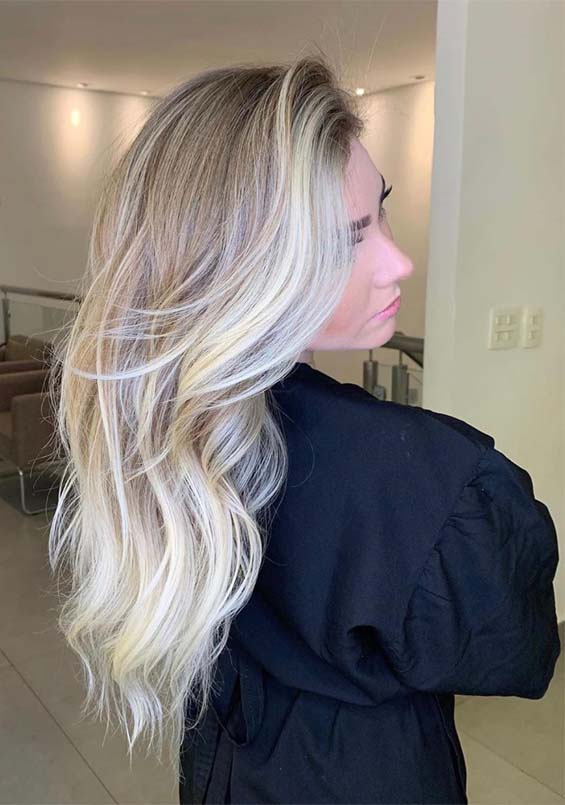Gorgeous Blonde Hair Color Shades for Long Hair to Try in 2019