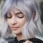 Chic bob with shaggy bangs for Every Woman in 2019